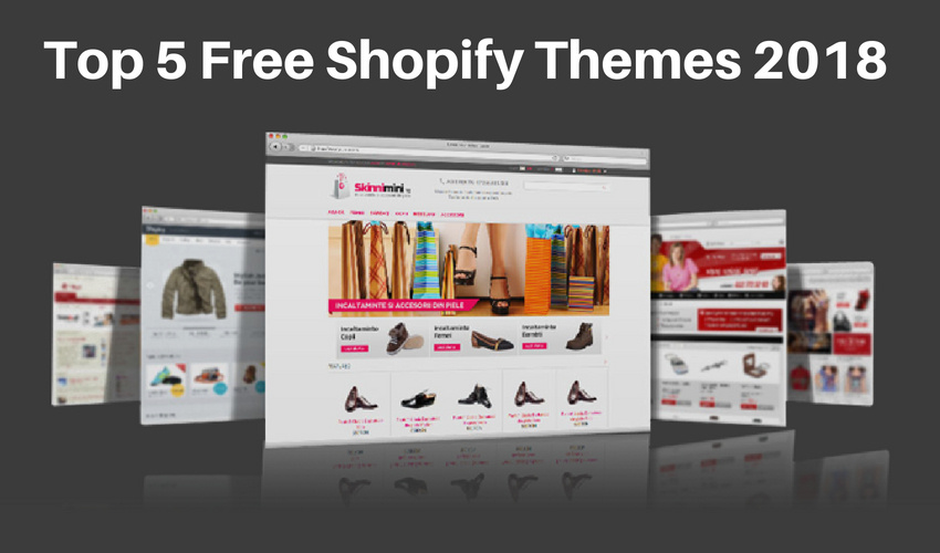 5 Best Free Shopify Themes 2018