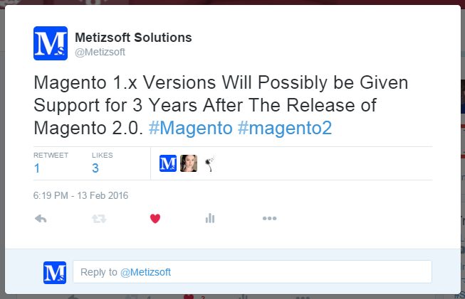 Release of Magento 2.0