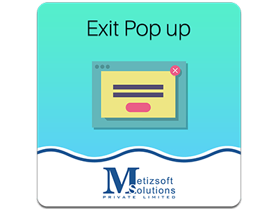 Magento Exit Screen Popup