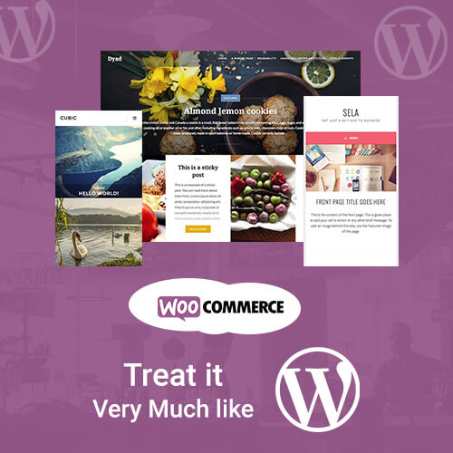 Treat as WordPress