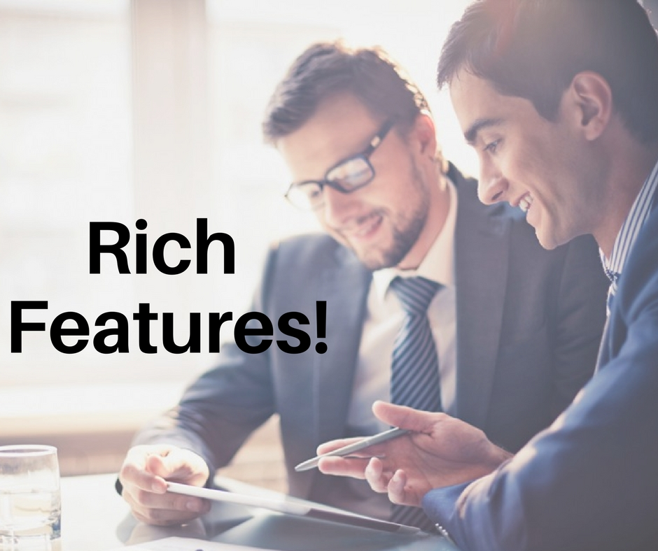 Rich features of php