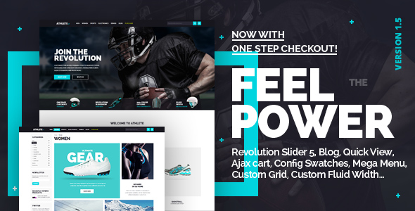 Athlete - Fluid Responsive