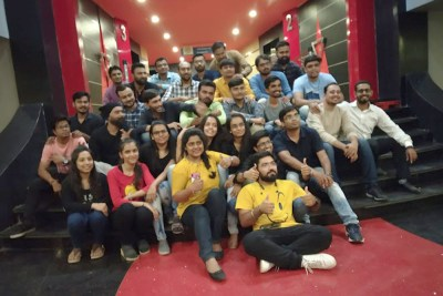 Team Metizsoft Watching Super30