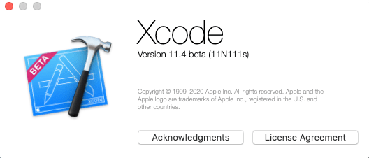xcode beta version