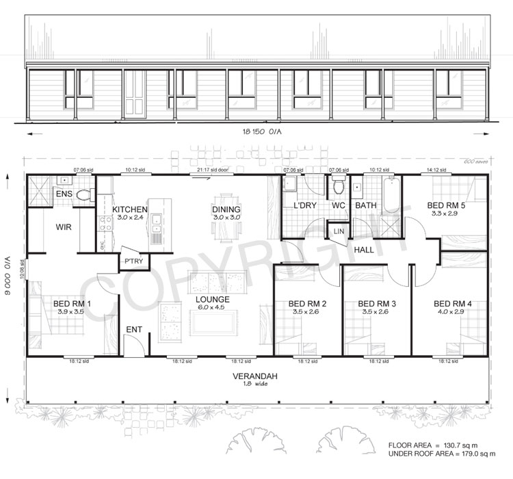 5 Bedroom Kit Homes Plans | www.resnooze.com