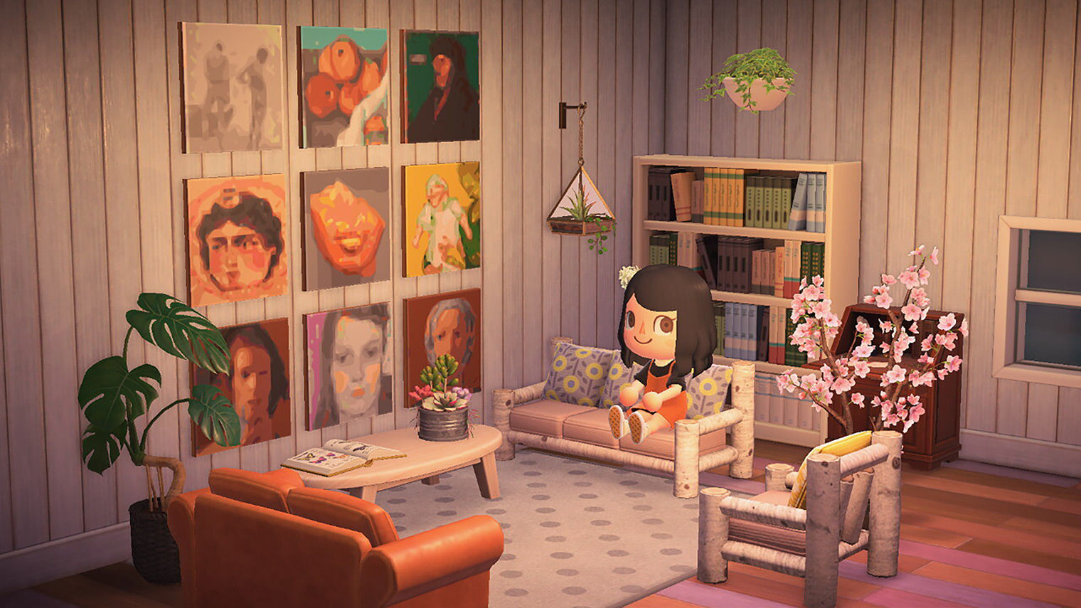 Own a Van Gogh … in Animal Crossing, with The Met's New ... on Animal Crossing New Horizons Living Room  id=83030