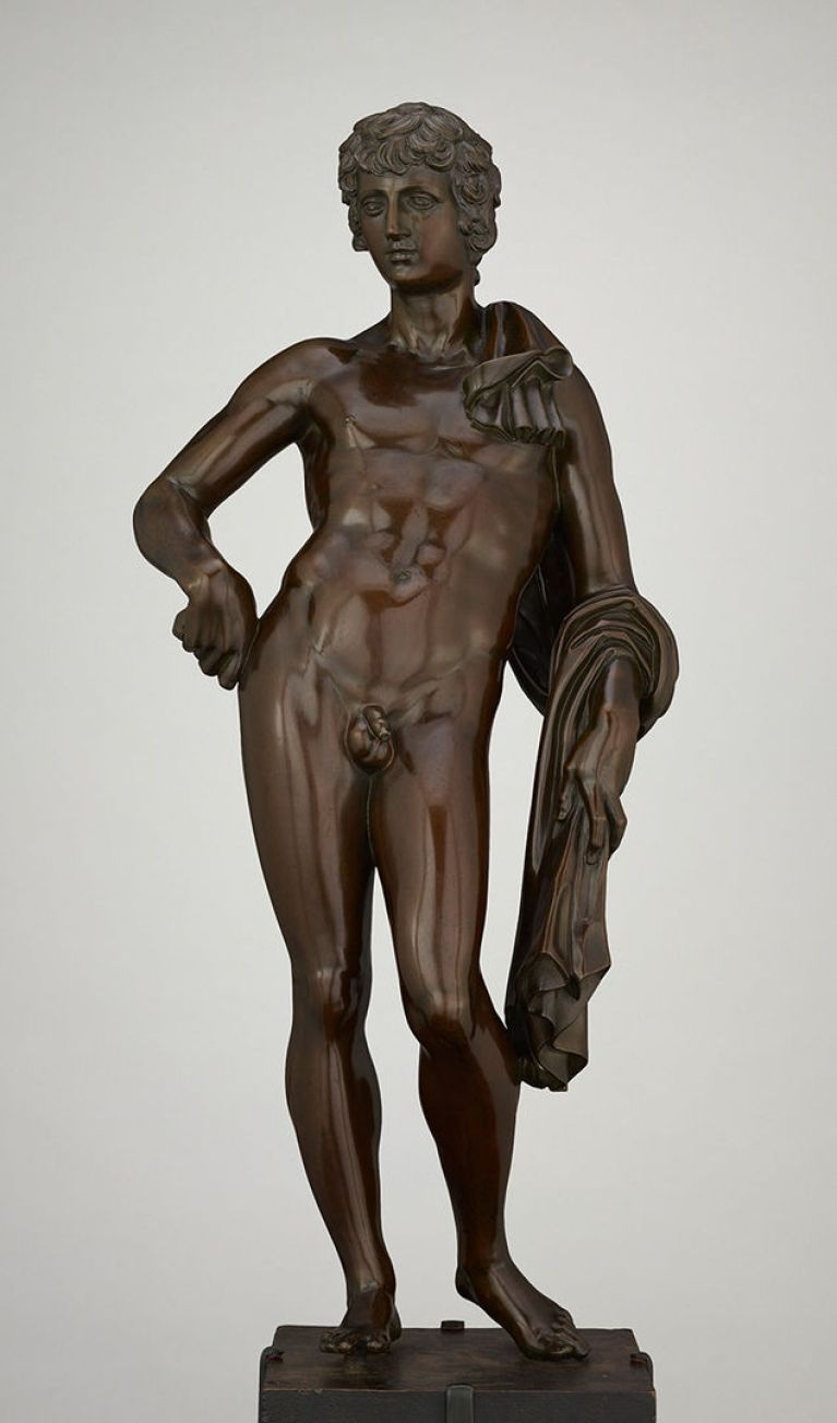 Bronze statue of Antinous