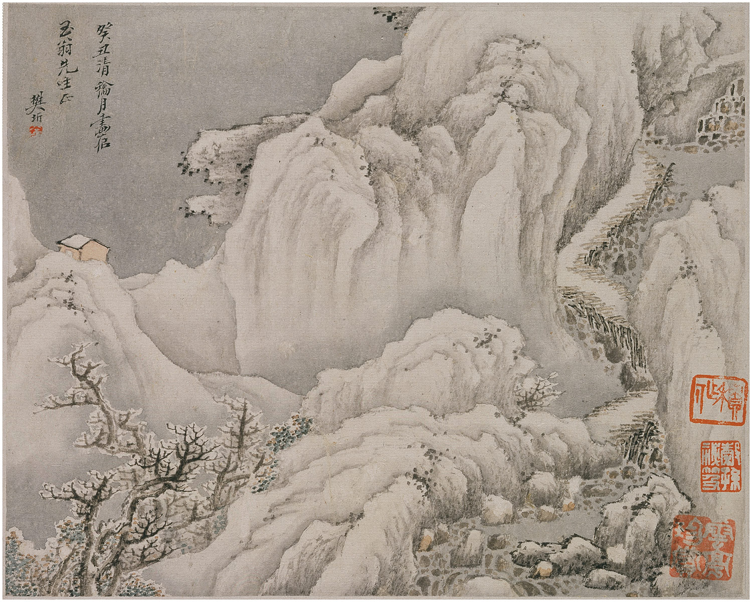 The Qing Dynasty Painting