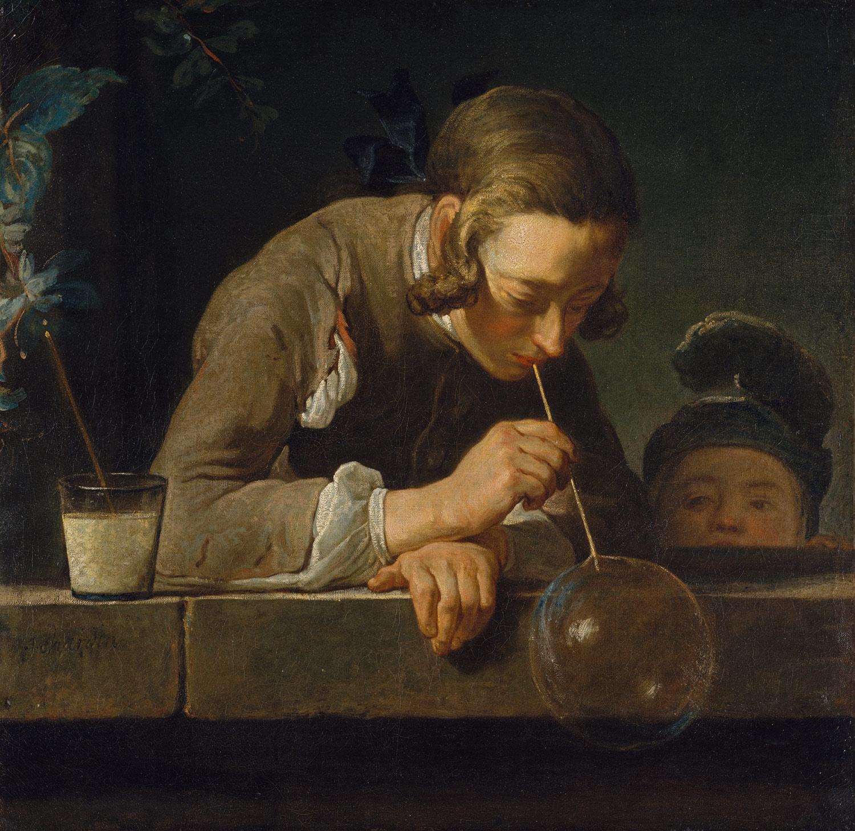 Soap Bubbles, ca. 1733–34 Jean Siméon Chardin (French, 1699–1779)