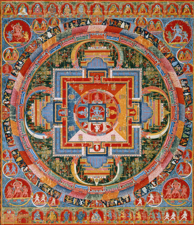 Mandala Of Jnanadakini Work Of Art Heilbrunn Timeline