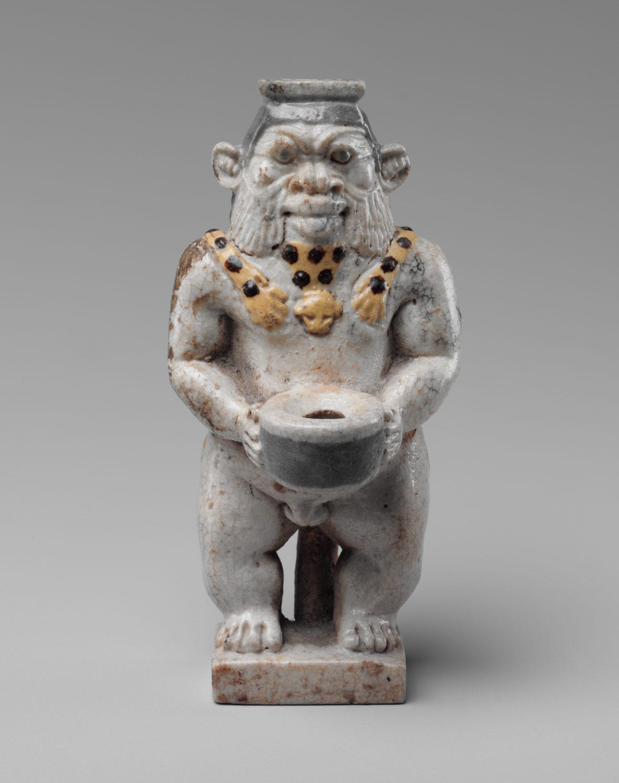 sculpture metropolitan museum statue god horus falcon 34 2 1