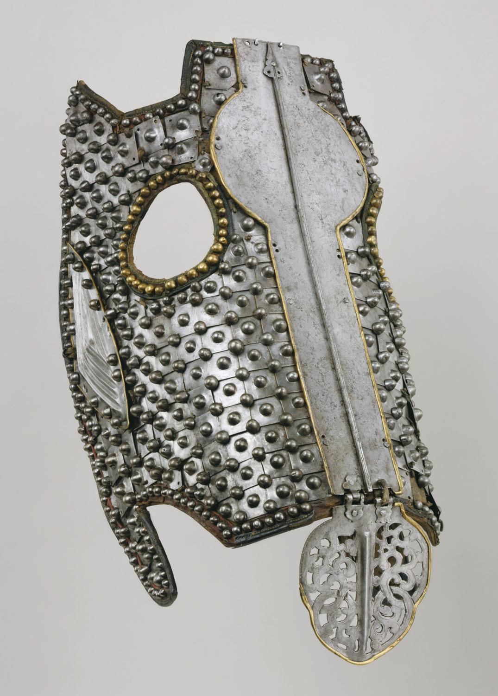 Chanfrein du XVe-XVIIe siècle
