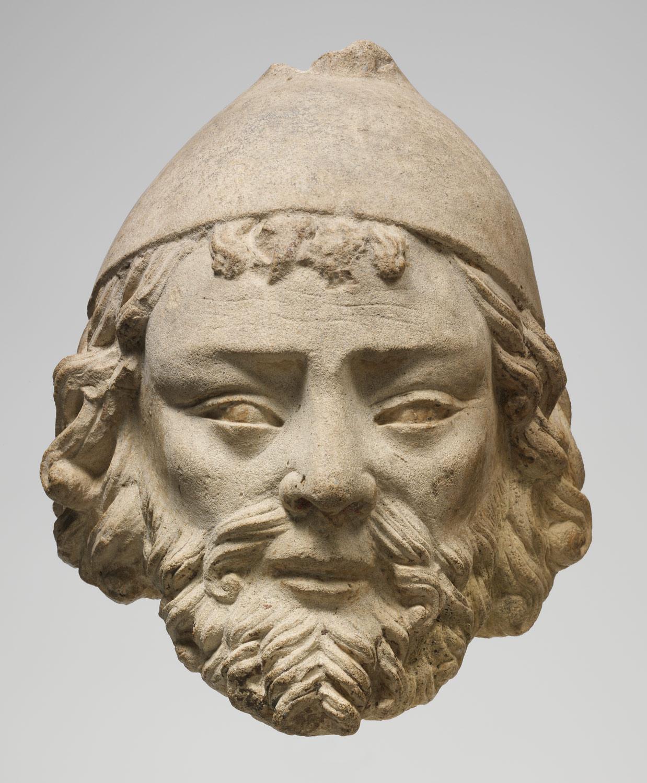 Limestone Head Of Joseph