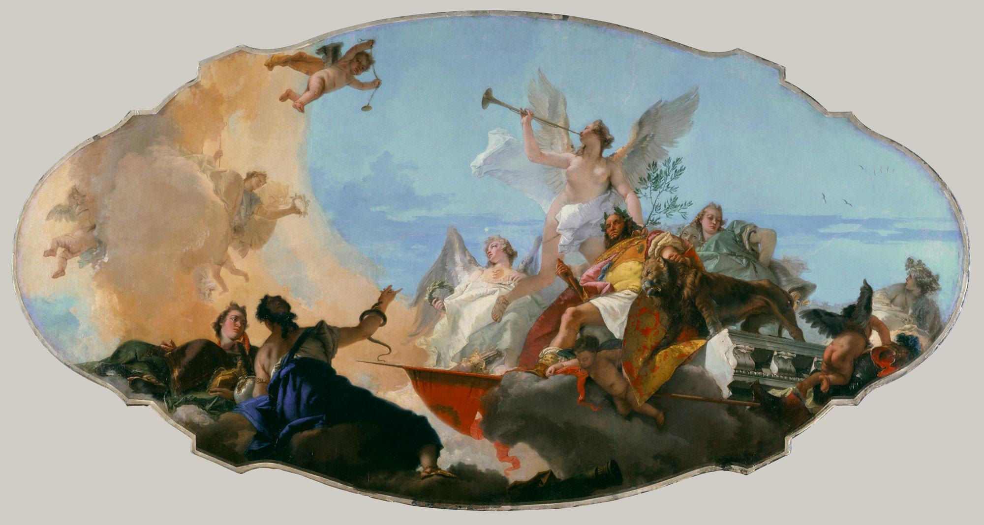 Giovanni Battista Tiepolo 16961770 Essay Heilbrunn