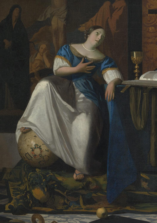 Allegory Of The Catholic Faith Johannes Vermeer 32100