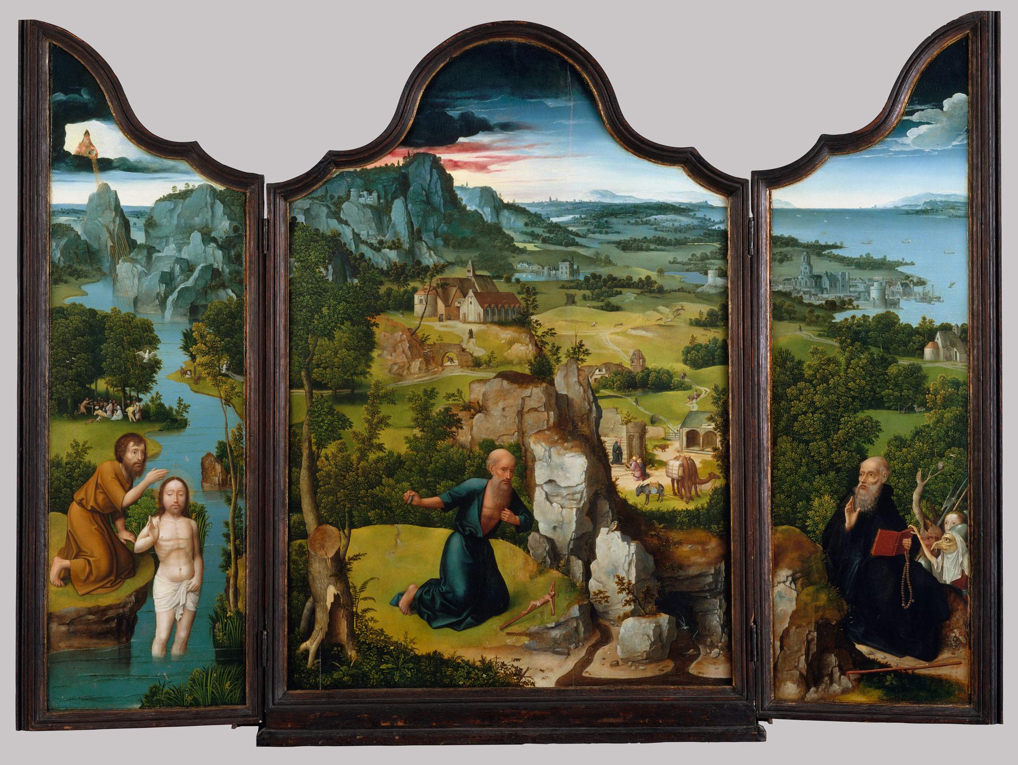 The Penitence Of Saint Jerome Joachim Patinir 3614a C