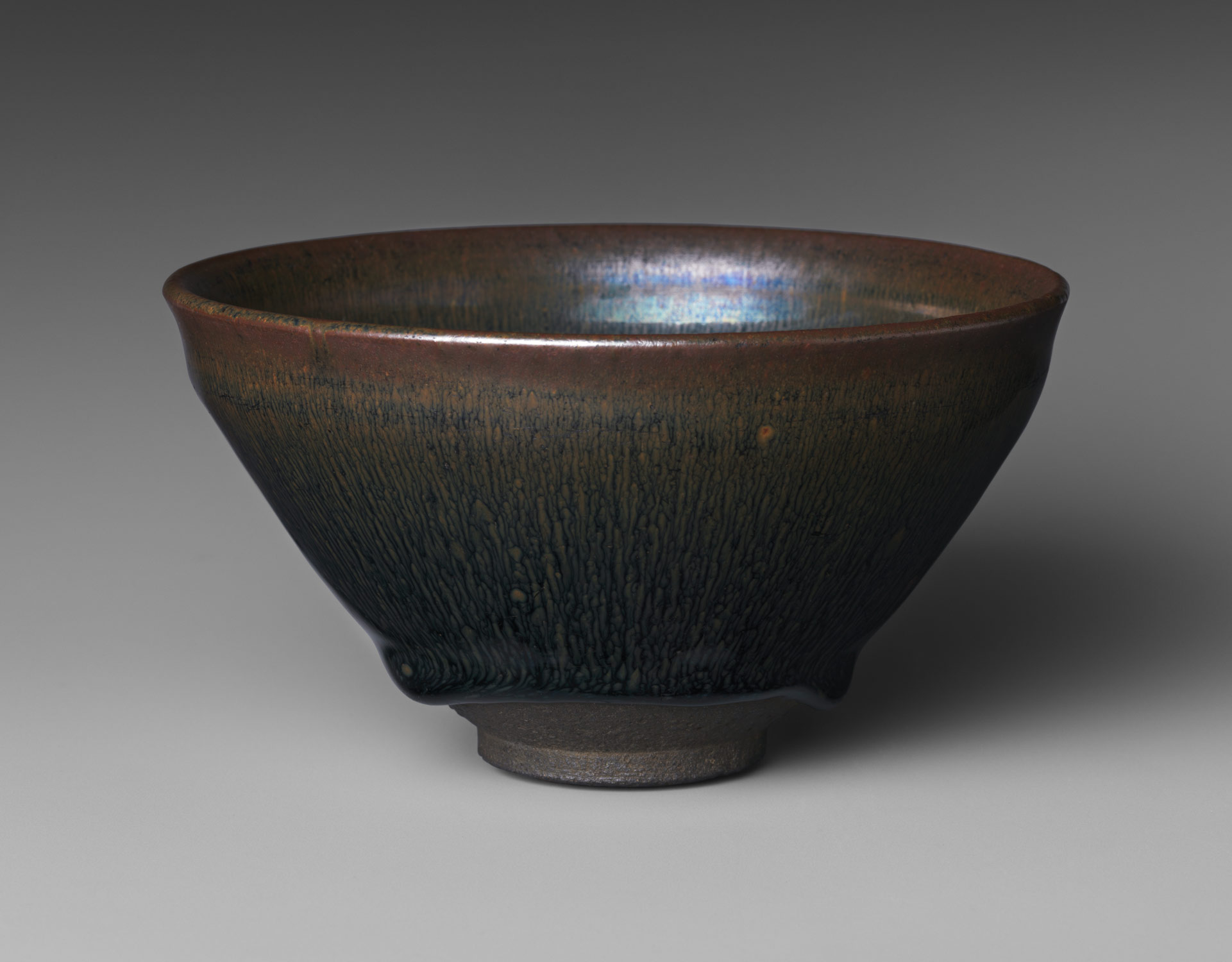 "Tea Bowl with ""Hare's-Fur"" Glaze"
