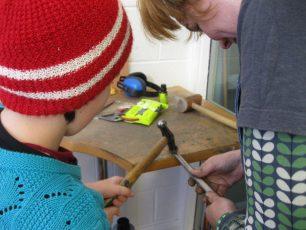 METNS Making rings with Maureen 2013