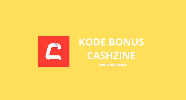 kode bonus cashzine