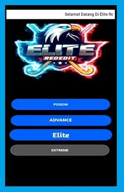 elite regedit ff