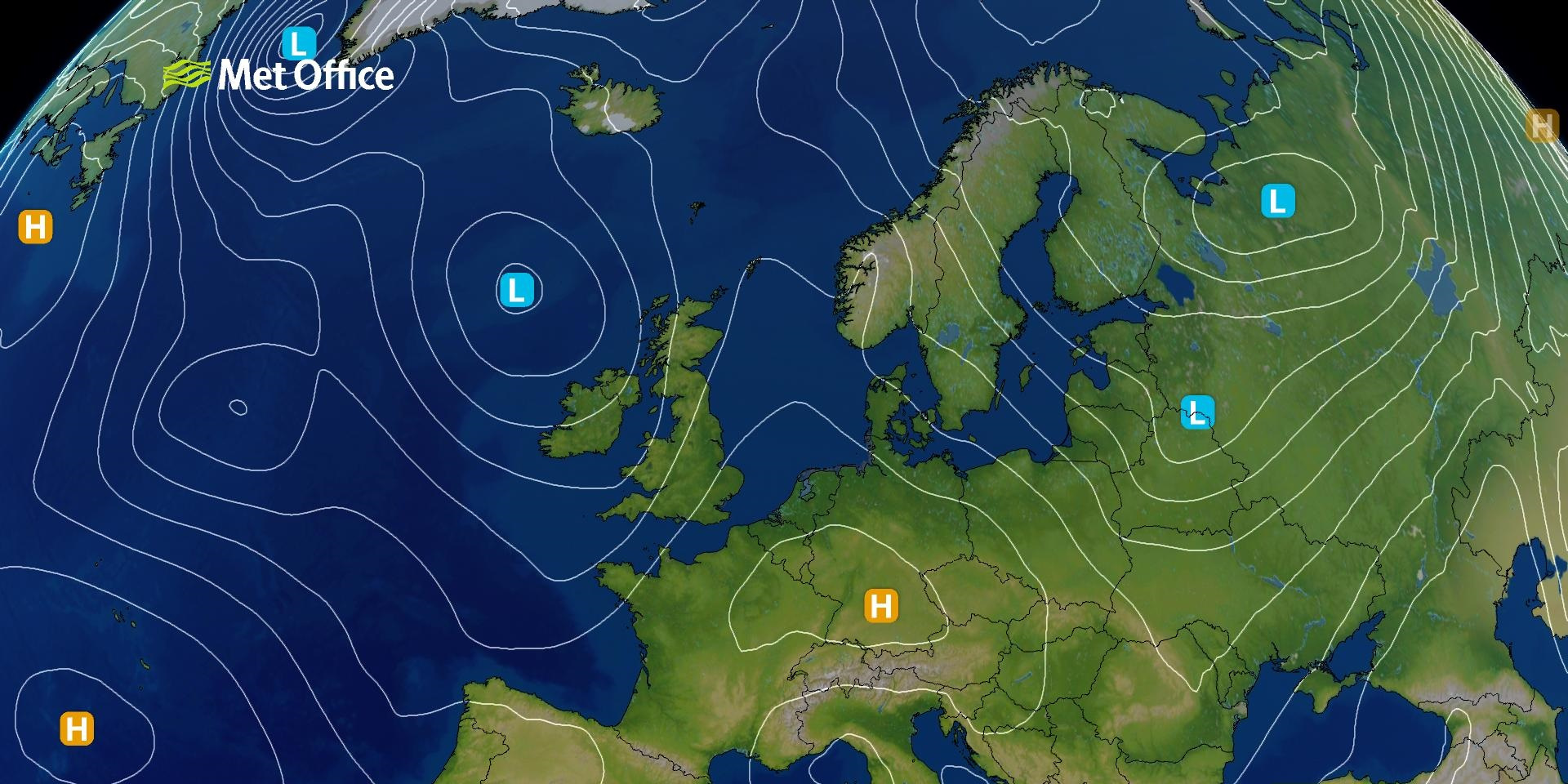 Lines On A Weather Map That Connect Areas Of Equal Air