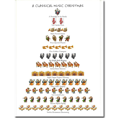 A Classical Music Christmas Card HOLIDAY Met Opera Shop