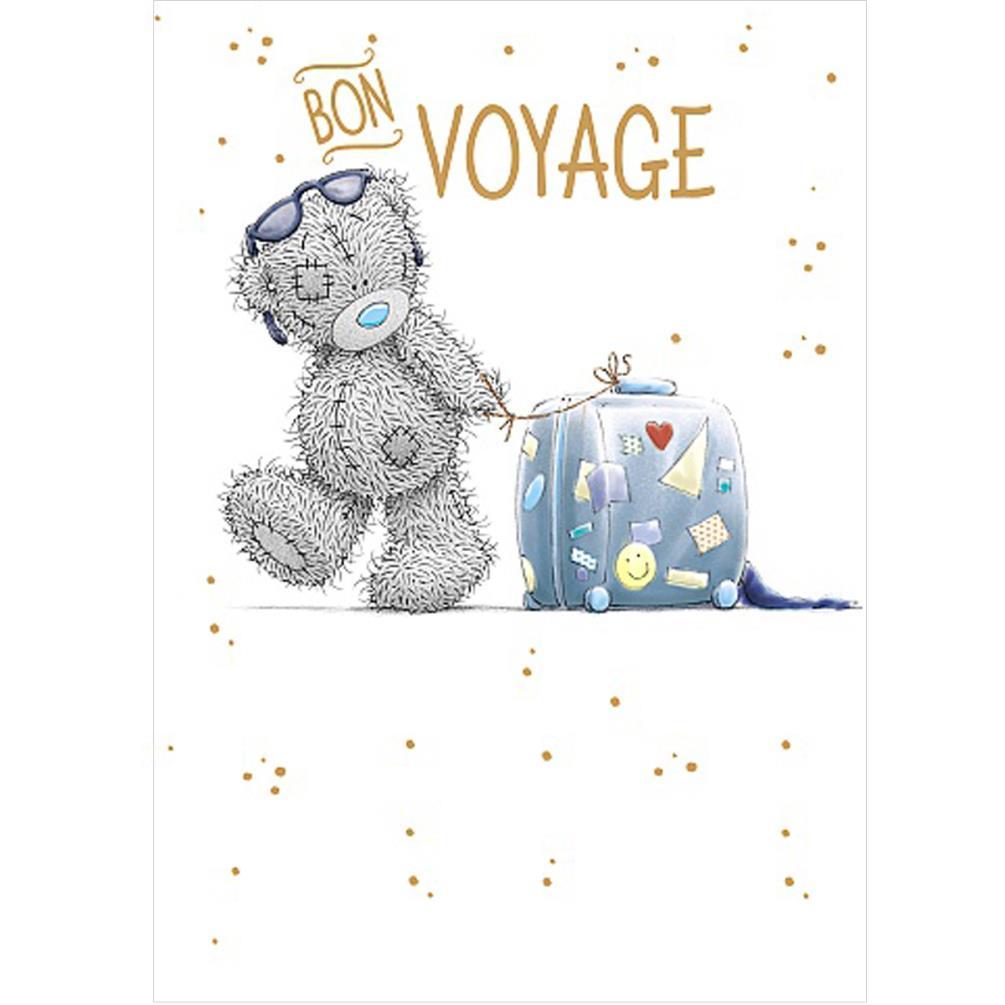 Bon Voyage Me To You Bear Card A01SS545 Me To You