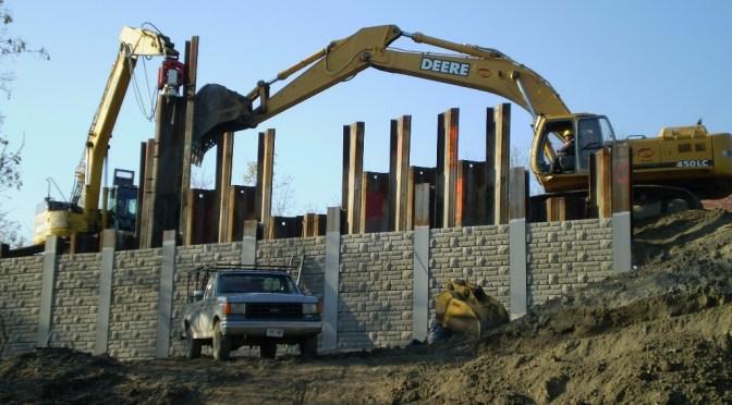 Clonmore Retaining Wall
