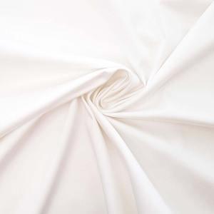 Cotone stretch – bianco – TAGLIO 0,6 MT