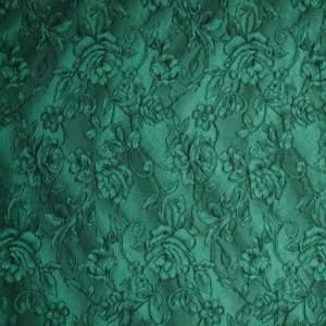 Broccato jacquard misto seta – verde