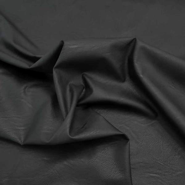ecopelle stretch nero