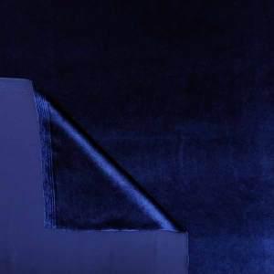 Velluto liscio stretch – bluette
