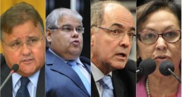 Janot pede inquérito contra Geddel, Lúcio, Aleluia e Lídice no STF
