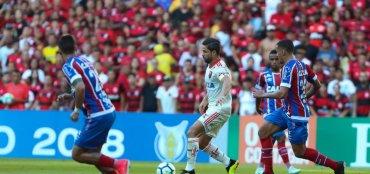 [Bahia perde para o Flamengo por 2 a 0 e segue sem vencer fora de casa na Série A]