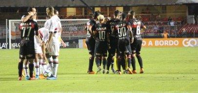 [Vitória é derrotado pelo São Paulo por 3 a 0 fora de casa]