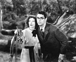 Cary Grant and Katharine Hepburn in \