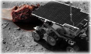Metroactive Features Barnacle Bill on Mars