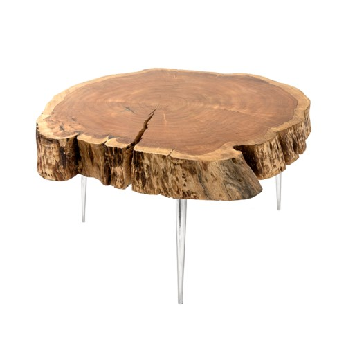 akis coffee table xc 4255xl natural wood without fill
