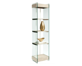 ADELE BOOKSHELF – DISTRESSED OAK