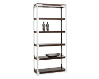 DAVENPORT BOOKCASE – BROWN ZEBRA