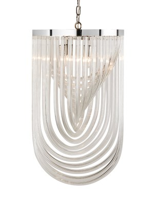 KEPLER – CHANDELIER – LARGE – CLEAR GLASS