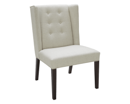 CLARKSON DINING CHAIR – LINEN FABRIC