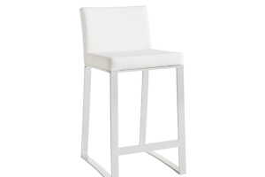 ARCHITECT COUNTER STOOL – WHITE