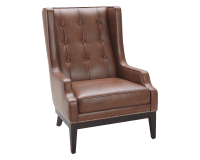 BIBLIOTECA ARMCHAIR – COGNAC LEATHER