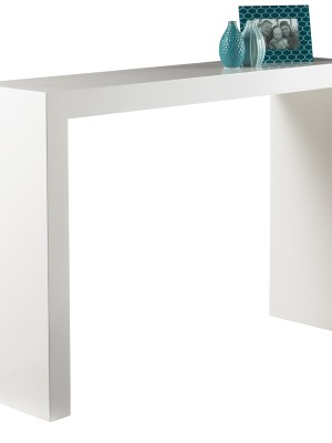ARCH CONSOLE TABLE – HIGH GLOSS WHITE