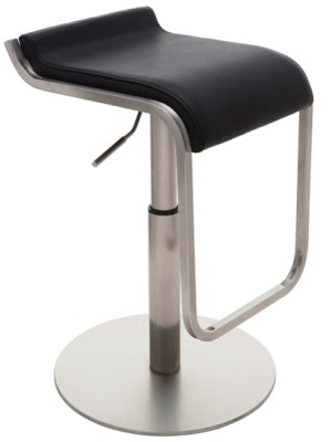 Adora Adjustable Stool Black