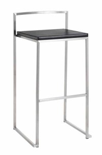 Genoa Counter Stool Black