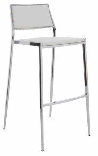 Aaron Bar Stool White