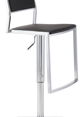 Aaron Adjustable Stool White
