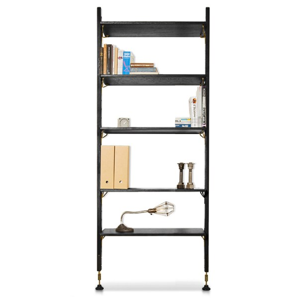 Theo Modular Shelving Hard Fumed